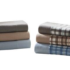 Sleep Philosophy Cozy Micro Fleece Easy Care Sheet Set