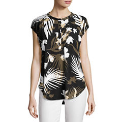 Liz ClaiborneDolman Henley Shirt