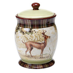 Certified International Rustic Nature Biscuit Jar