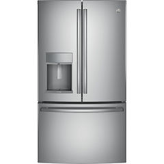 GE® Profile™ Series 22.2 cu. ft. Counter-Depth French Door Refrigerator