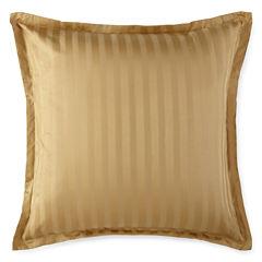 Royal Velvet® Damask Stripe Euro Pillow