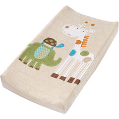 Summer Infant® Plush Pals Changing Pad Cover - Safari Stacks