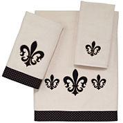 Avanti Fleur-De-Lis Luxembourg Bath Towels