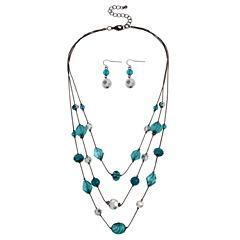 Mixit Womens 3-pc. Jewelry Set