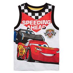 Disney By Okie DokieSleeveless Cars T-Shirt-Toddler Boys