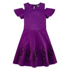 Sleeveless Descendants A-Line Dress - Big Kid Girls