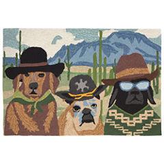 Liora Manne Frontporch Ranch Patrol Hand Tufted Rectangular Rugs