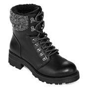 Mia Womens Combat Boots