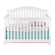 Rockland Portland Convertible Crib - Pure White