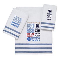 Avanti® Beach Words Bath Towels