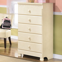 Signature Design by Ashley® Cottage Retreat 5-Drawer Chest