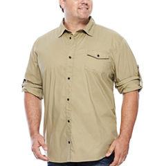 i jeans by Buffalo Long-Sleeve Likilo Woven Shirt - Big & Tall