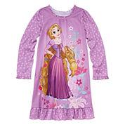 Disney Long-Sleeve Rapunzel Nightshirt - Girls 7-16