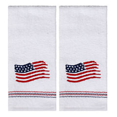 Saturday Knight 2-Pack American Flag Hand Towel