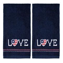 Saturday Knight 2-Pack Love Hand Towel Set