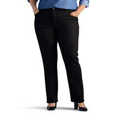 Lee® Relaxed Fit Straight-Leg Jeans - Plus