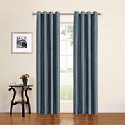 Eclipse Bryson Grommet-Top Curtain Panel
