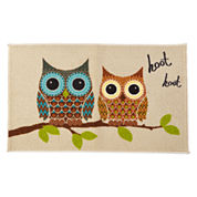 JCPenney Home™ Hoot Owl Accent Rug
