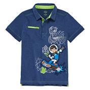 Disney® Miles Short-Sleeve Cotton Polo - Boys