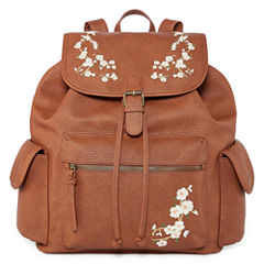 Arizona Embroidered Flap Backpack