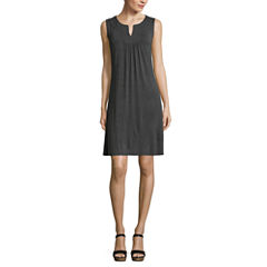 St. John's Bay Sleeveless Sundress-Petites