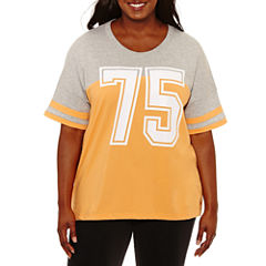 Flirtitude Graphic T-Shirt- Juniors Plus