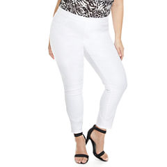Fashion To Figure Harper Pull-On Jeggings Womens Plus