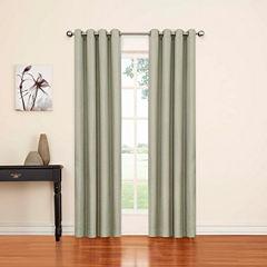 Eclipse Luxor Grommet-Top Curtain Panel