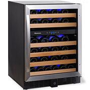 Wine Enthusiast® Classic 46 Dual-Zone Wine Cellar