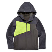 Vertical 9 Hooded Softshell Jacket - Boys 8-20