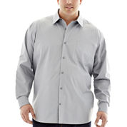 Claiborne® Long-Sleeve Solid Woven Shirt - Big & Tall