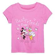 Disney Baby Collection Minnie and Daisy Graphic Tee - Girls newborn-24m