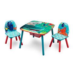 Disney Kids Table + Chairs