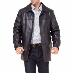 Samuel Leather Car Coat Big
