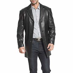 Carter Leather Car Coat Big and Tall