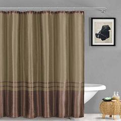 Duck River Sabrina Faux Silk Shower Curtain