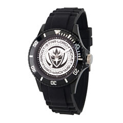 Guardian Of The Galaxy Marvel Mens Black Strap Watch-Wma000103