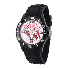 Guardian Of The Galaxy Marvel Mens Black Strap Watch-Wma000109