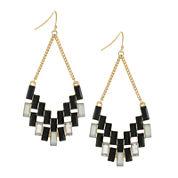 nicole by Nicole Miller® Gold-Tone Drop Earrings