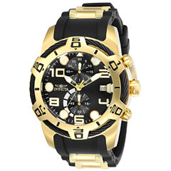 Invicta Bolt Mens Black Strap Watch-24218