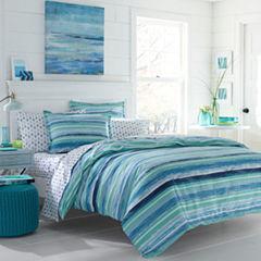 Poppy & Fritz Poppy & Fritz Alex Bedding Collection Stripes Reversible Comforter Set