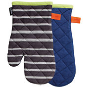 Ladelle® Bizzi Set of 2 Oven Mitts