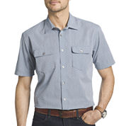 Van Heusen® Short-Sleeve Button-Front Woven Shirt