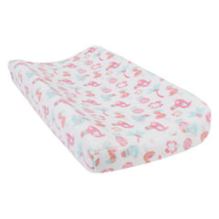 Trend Lab Tropical Pastel Plush Changing Pad Cover