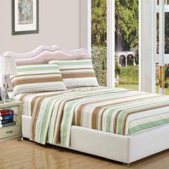 Duck River Textiles Earthy Stripe Microfiber Wrinkle Free Sheet Set