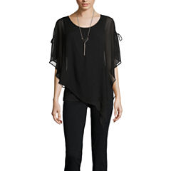 Alyx Cold Shoulder Popover Top