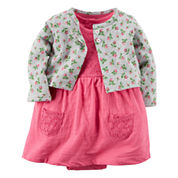Carter's® 2-pc. Floral Dress Set - Baby Girls newborn-24m