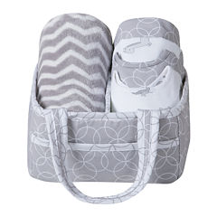 Trend Lab® Safari Chevron 6-pc. Baby Care Gift Set