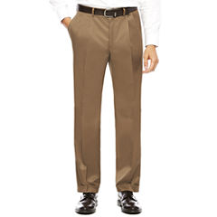 Collection by Michael Strahan Textured Twill Pleated Pants