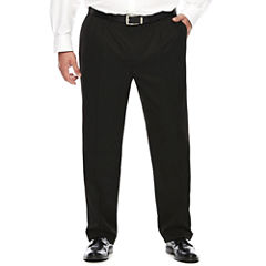 Collection by Michael Strahan Textured Twill Pleated Pants - Big &Tall